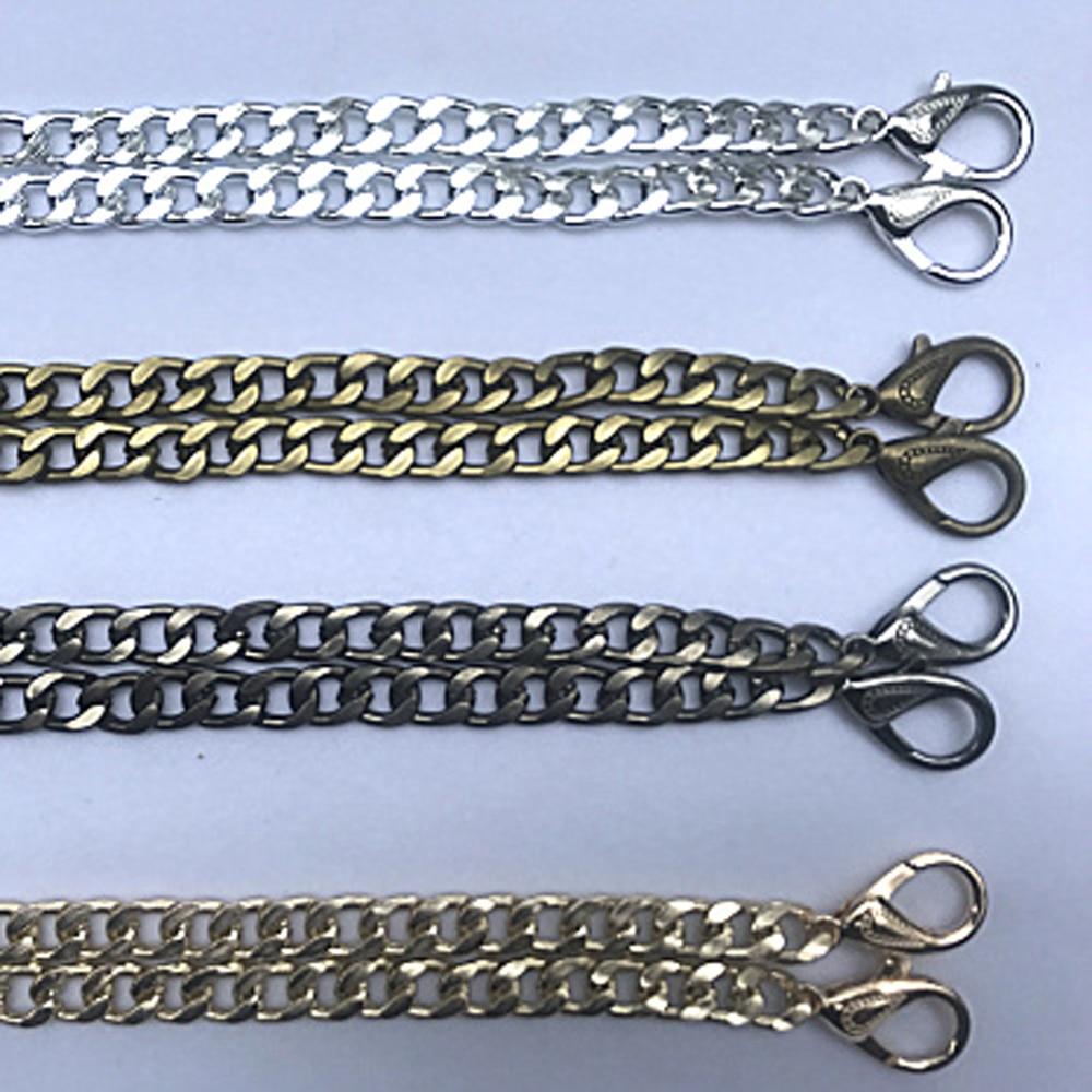 120cm DIY Women Hand Bag Metal Chain Shoulder Strap Bag Making Hardware Accessories Aluminum Material Light Weight 10pcs/lot