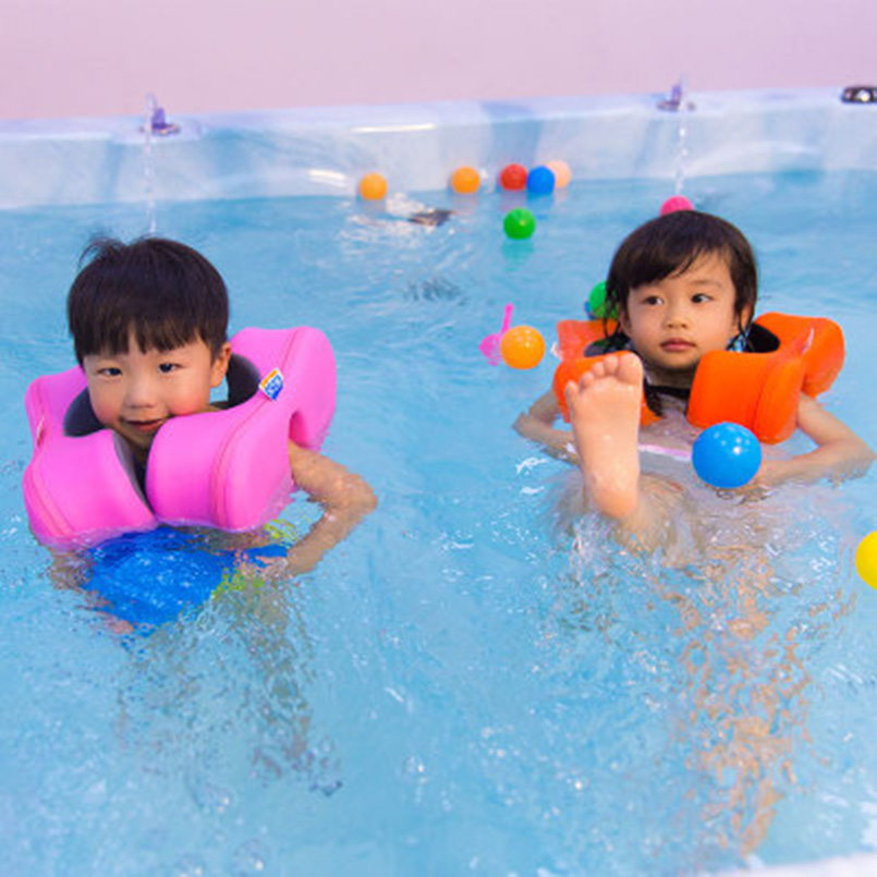 Summer Swimming Foam Pool Float Non-inflatable Armpits Child Swim Equipment  Foam Ring Baby Shoulder Arm Circle Ring For Kids