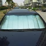 Summer car sunshade barrier Silver sun block sun shading stoopable Car sun gear the sun gear,sunscreen window