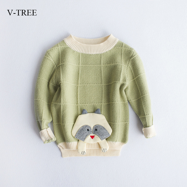 Long Sleeve Sweater for boys girls Children sweaters autumn witer