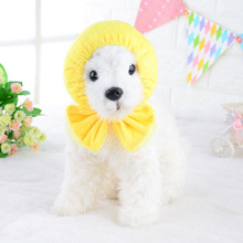 Fashion Pets Neck Bow Tie for Dogs Shower Cap Lace Scarf Scarves Lovely Neckerchief Pet