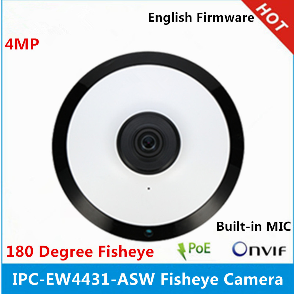 DH IPC EW4431 ASW Panorama 180 Degree built in MIC SD card slot Audio and Alarm
