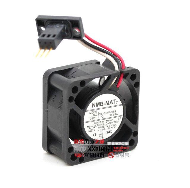 O original 1608VL-05W-B69 24 V 4020 FANUC ventilador especial à prova d' água três agulha