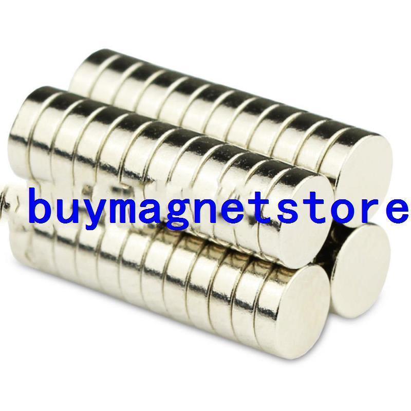 இLot 50 piezas fuerte Mini ronda de disco Dot imanes 5*1,5mm ...