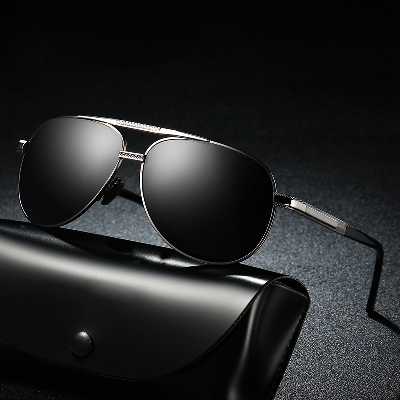Fashion 2018 aviator brand Polarized Sunglasses Men goggles Sun Glasses Lady Anti UV400 Protect Lenses Polaroid Glasses 305