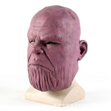 Wholesale 2colors Halloween Deluxe Thanos Mask Infinity Avengers War Helmet Cosplay Masks