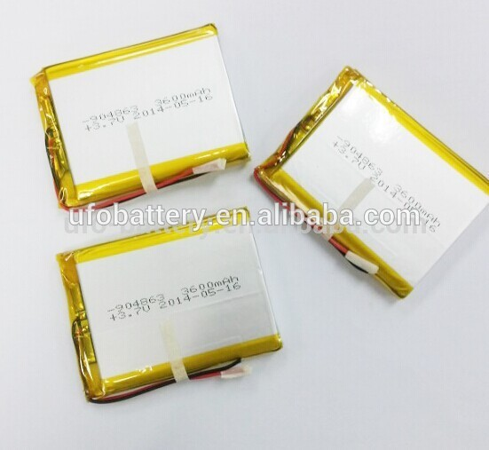 2Pcs High Capacity Lithium Polymer Battery 3600mAh 904863 3 7V Li Polymer Battery For font b