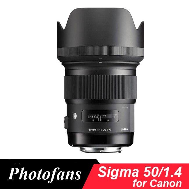 Sigma 50/1. 4 lente para Canon 50mm f/1.4 DG HSM Arte Lente para Canon