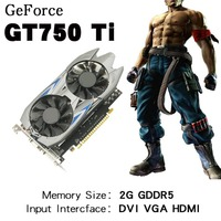2GB DDR5 128Bit PCI Express VGA DVI HDMI Video Graphics Card With Dual Fans For GTX