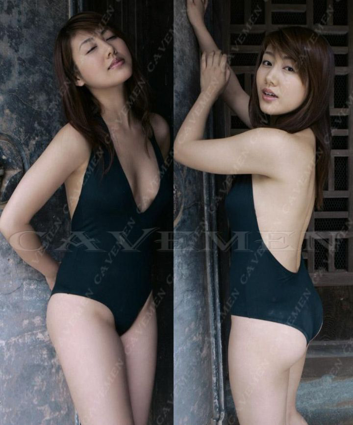 Diepe v hals Naked back Half heup Zelfs de Badpak * 2080 * dames thongs g underwear slipje badpak bikini gratis verzending