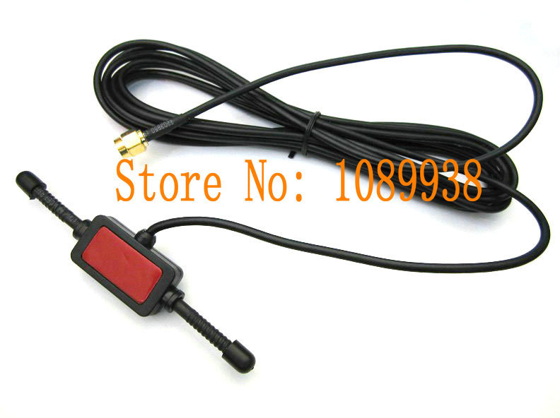 GSM Antenna 5dbi 3M cable with sma male plug connector Free shipping /UMTS/HSPA/CDMA