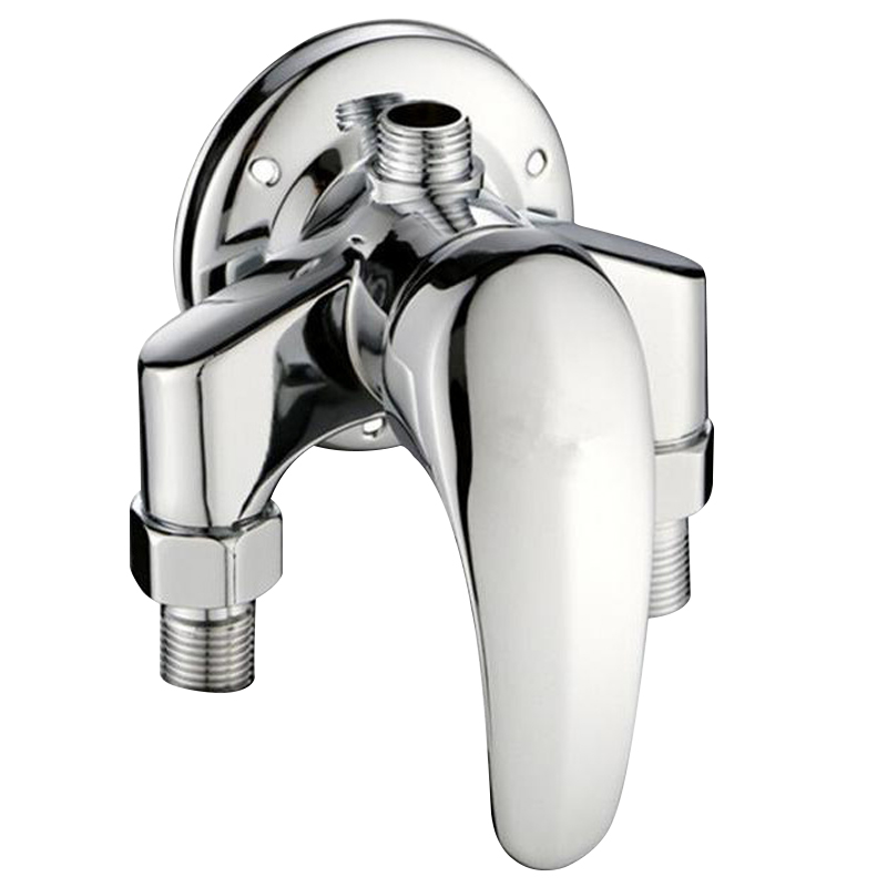 Jooe Brass Chrome Shower Faucet Hot And Cold Mixer Water