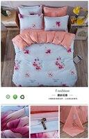 100 Bed Sheets Cotton Plaid Bedding Sets Plaid De Lit Queen Duvet Cover Cotton Desinger Bed