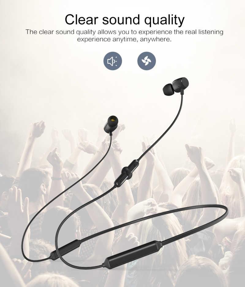 Mr Q5 Sport bezprzewodowe słuchawki Bluetooth do telefonów komórkowych zestaw słuchawkowy z mikrofonem bas ciężki bas wysoka wytrzymałość wodoodporna fajna