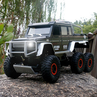 1/10 RC Car 6WD 2.4Ghz Remote Control High Speed Off Road Truck Vehicle Toys 6x6 RC Rock Crawler Buggy Climbing Car Kid Boy Toys
