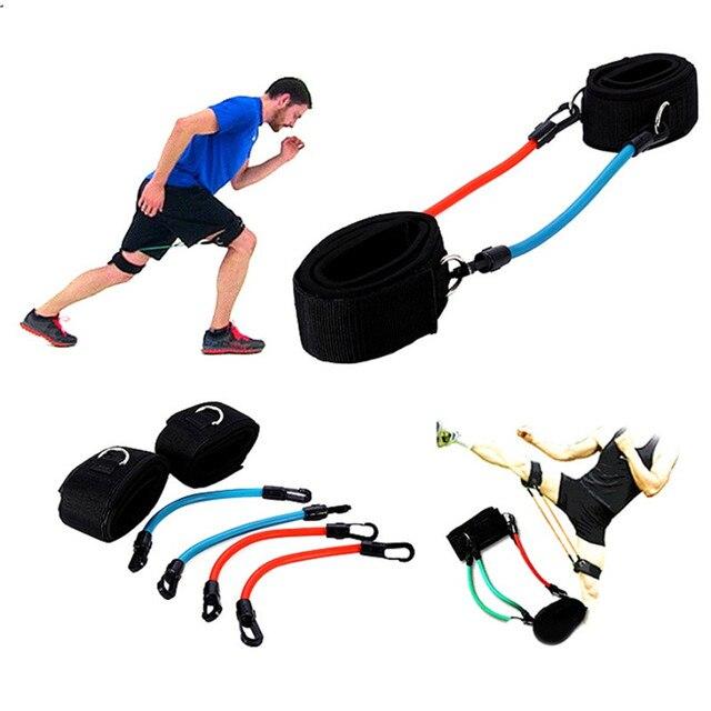 FZCSPEED Эспандеры ремешок на щиколотке эластичные Эспандеры спортивное оборудование силовой тренажер тренажерный зал силовой удар бокс