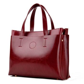Ladies Hand Bags Women Fashion Handbags - PU Leather Shoulder Bag Women Office Bags 1