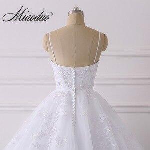Image 5 - Summer Lace Wedding Dress 2020 Spaghetti Straps Plus Size Bridal Dress Simple Vestidos de Noiva свадебные платья for Women
