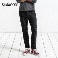 SIMWOOD Brand Pants 2017 Autumn Winter Casual Pants Men Fashion Slim Fit Trousers Men High Quality