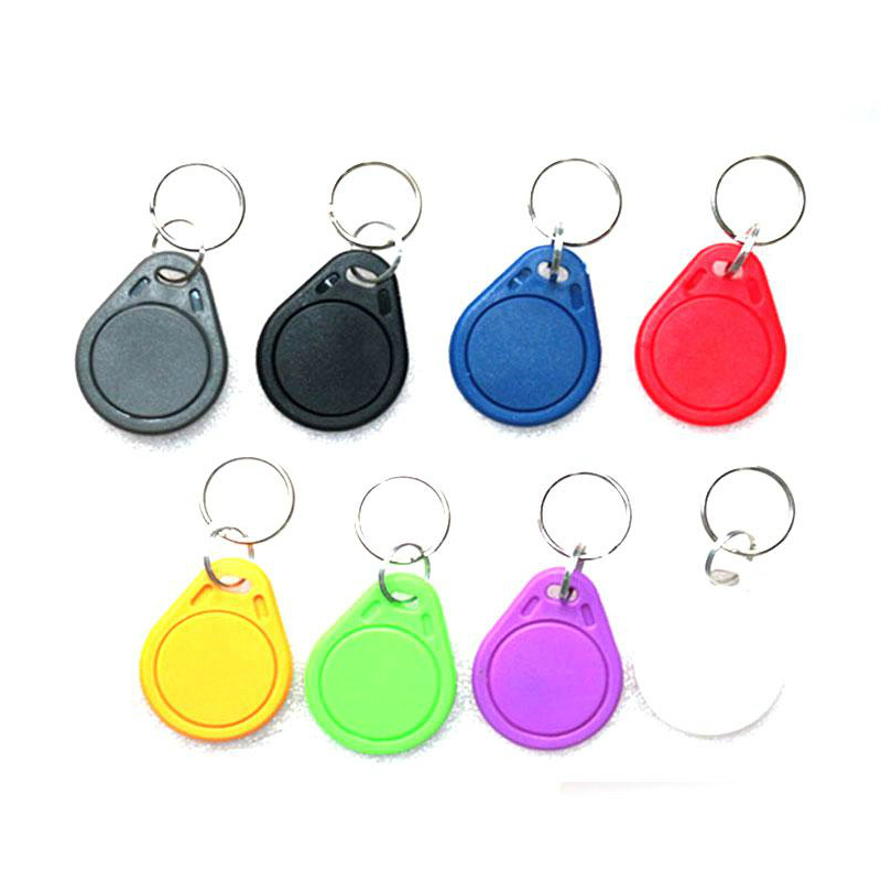 50pcs UID IC card Changeable Smart Keyfobs Key Tags Card for 1K S50 MF1 RFID 13.56MHz Access Control Block 0 Sector Writable free shipping by dhl rfid proximity ic card tags 13 56mhz 1k s50 access control time attendance car parking min 500pcs
