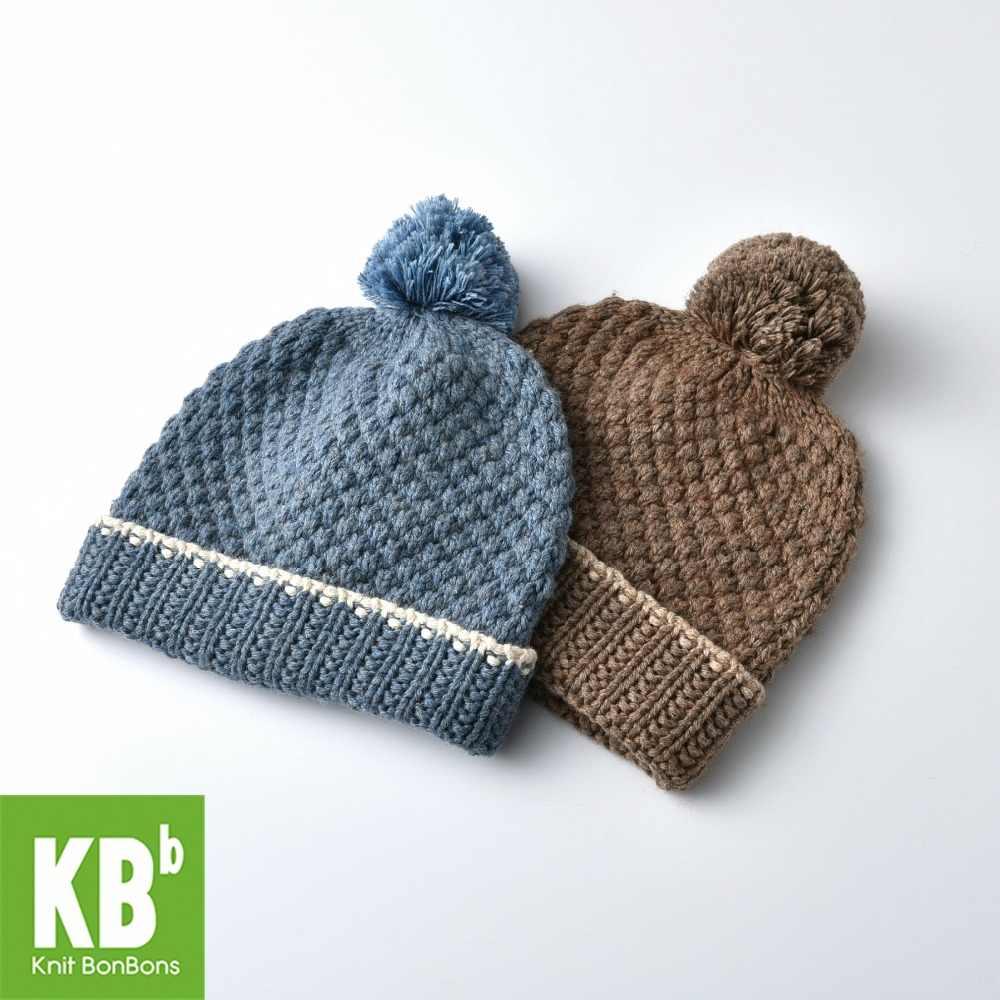 2cad6719bea SALE KBB 2 Colors Xmas Fall Winter Children Wool Women Men Pom Pom Yarn Knit  Warm