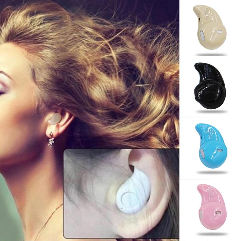 S530 Mini Wireless Bluetooth V4.0 Earphone in-ear Earbuds Stereo sport Headset Handfree Earpiece with Microphone 10pcs mini blutooth earphone small wireless s530 headset microphone earphone micro s530 earpiece sport headphones for xiomi sony