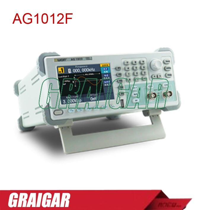 AG1012F двухканальный генератор сигналов произвольной формы, 10 мГц пропускной способности, 125MSa/S дискретизации, 8 К pts АРБ волна Длина