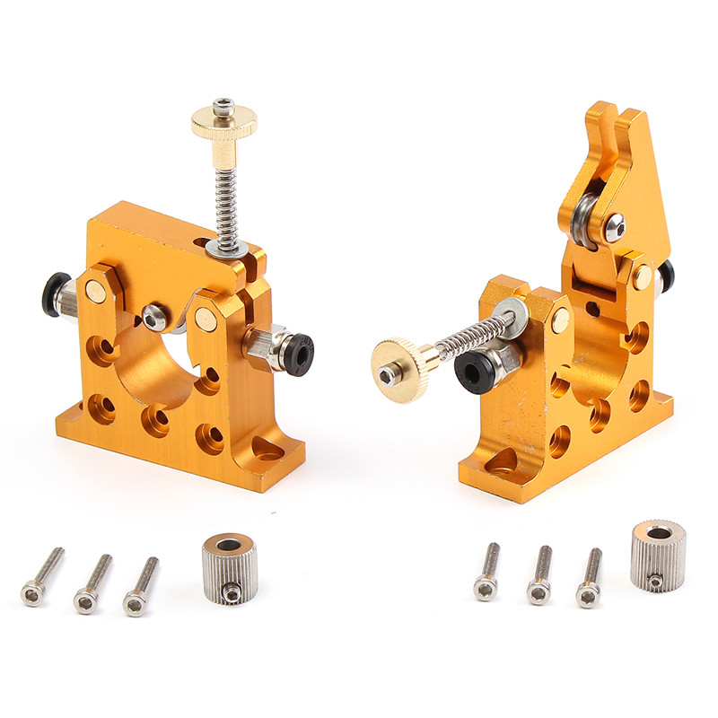 3D Printer parts All Metal Bowden remote Extruder kit 1.75mm for 3D printer 42 stepper motor Accessories 90x70mm NEw