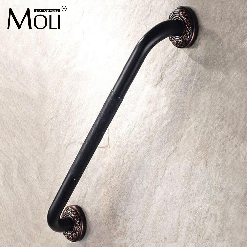 ộ_ộ ༽Soild brass grab bar helping handle bathtub for elderly oil ...