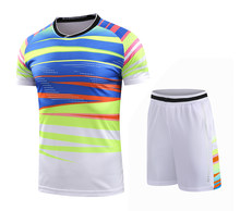 Free print New CHINA Badminton sets Men / Women , LIN D Badminton clothes , sports badminton suits uniforms 215AB(China)