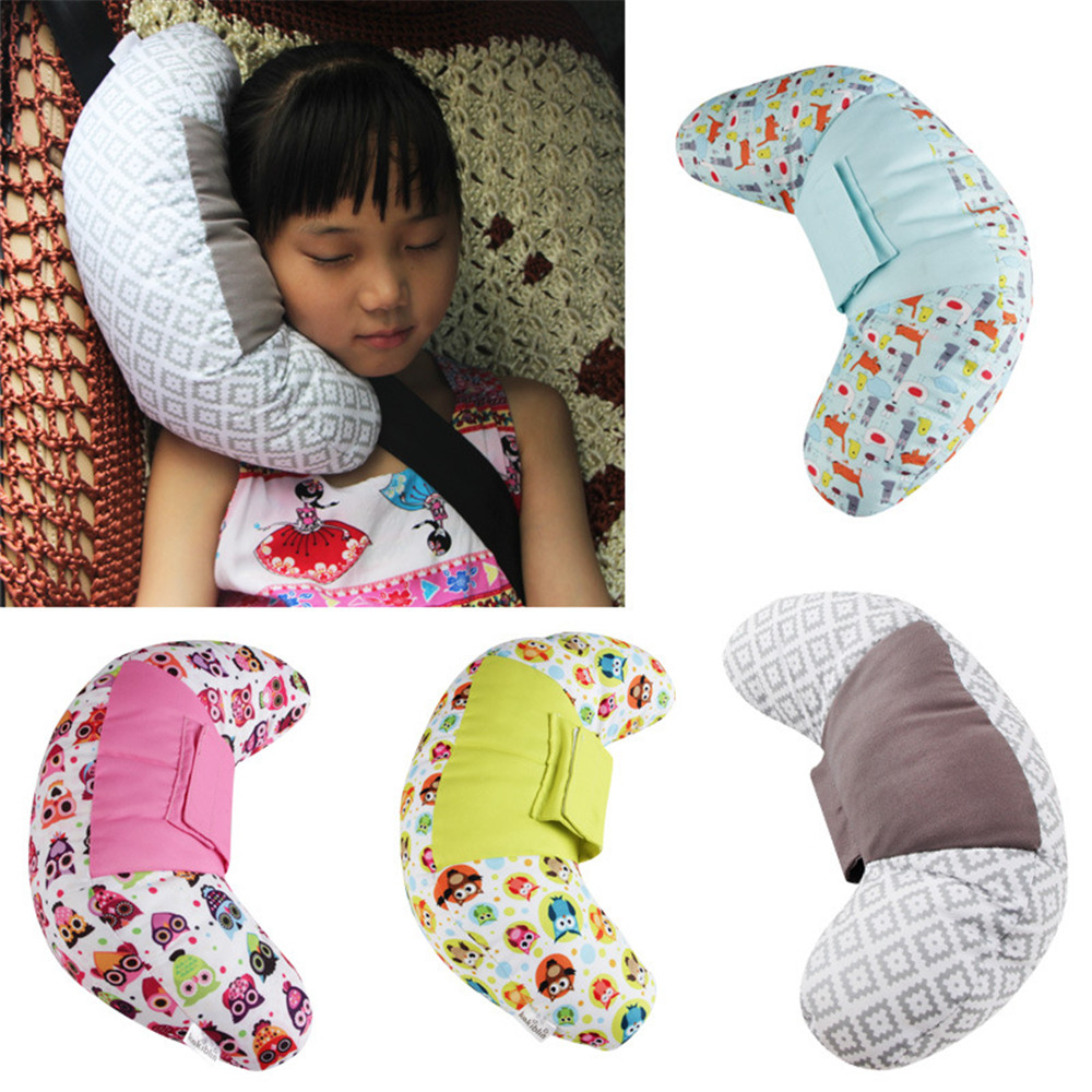 Soft Car Seat Head Support Belt Children Seat Belt Pads as Neck Pillows For Baby