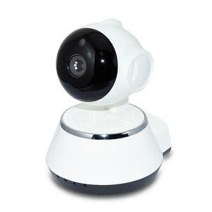 Image 3 - P2P V380 HD 720P Mini Câmera IP Sem Fio Wi fi Câmera de Vigilância de Segurança Visão Nocturna do IR Detecção de Movimento Monitor Do Bebê alarme