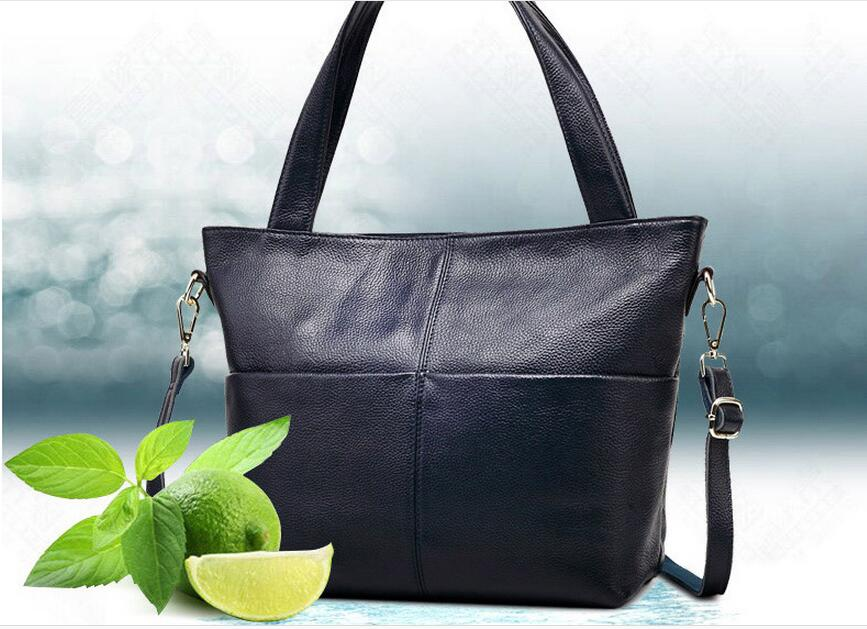 2018 high quality genuine leather women's handbag  portable shoulder bag cross-body soft female bags large capacity hot-selling high quality authentic famous polo golf double clothing bag men travel golf shoes bag custom handbag large capacity45 26 34 cm