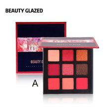 9 Colors Profession Eye Shadow Palette Smoky Makeup Eyeshadow Matte Shimmer Natural Waterproof Complete Maquiagem