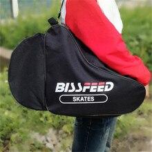 Quality Thicken Ice Racing Skate Bag For Adults Kids Roller Skates Backpack Single Shoulder Bag Inline Skating Bags 56/60/66cm