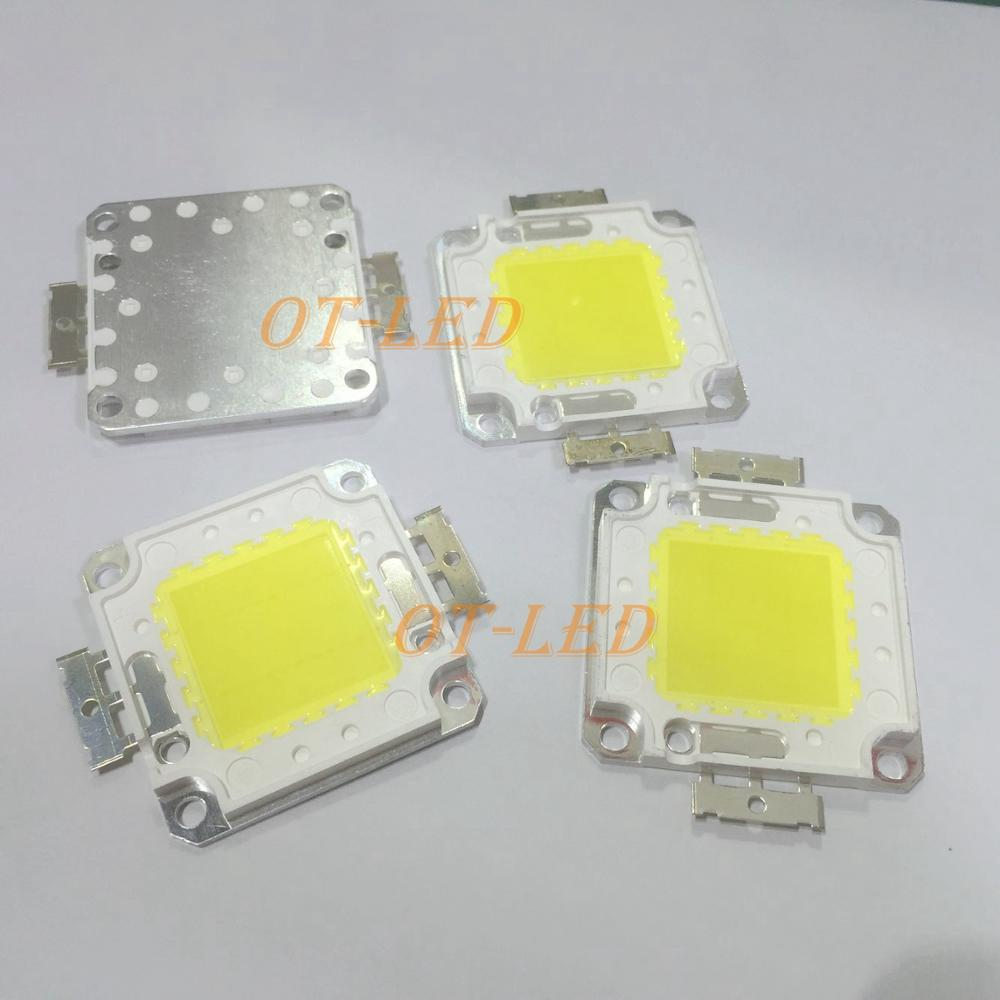 1 pcs 30mil 10 w 20 w 30 w 50 w 100 w 30mil Blanc 4500 k/Blanc Chaud 3000 k/Blanc Pur 6500 k/Blanc Froid 10000-30000 k LED Lampe de Lumière de Partie