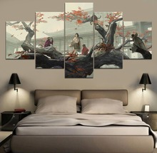 Sekiro Shadows Die Twice Game HD Print Painting Modern 5 Piece Canvas Wall Art For Living Room
