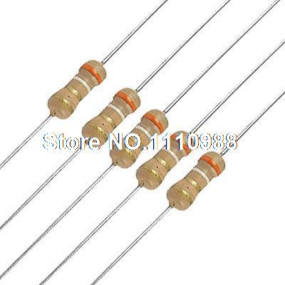50 x Resistors 2K7 2.7K Ohms OHM 1//4W 5/% Carbon Film