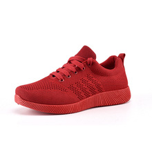 Women Shoes 2019 Flyknit Sneakers Women Super Light Vulcanized Shoes F