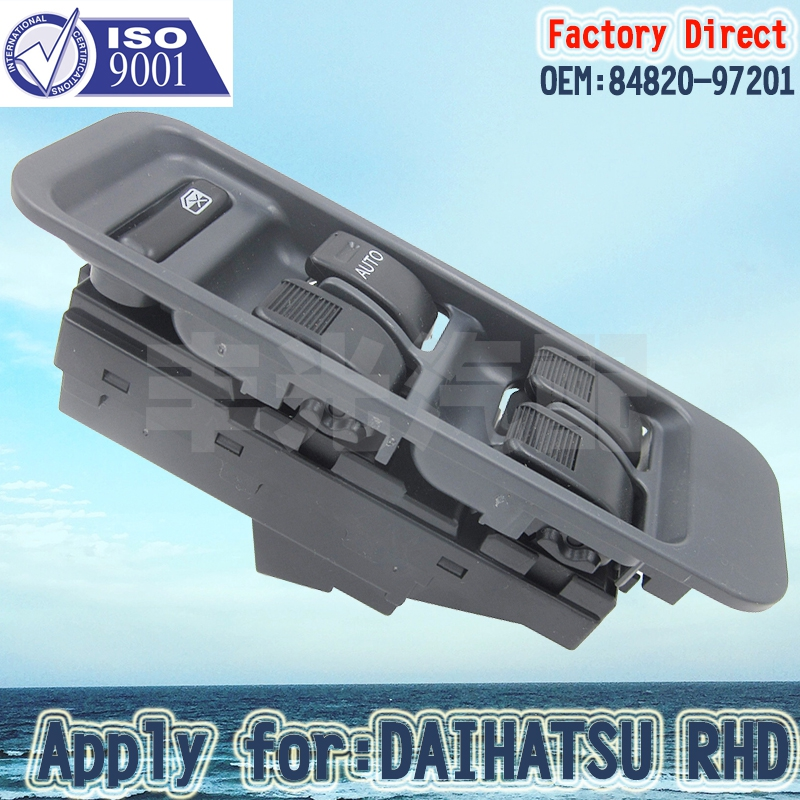 Factory Direct Window Master Control Switch Apply For Daihatsu RHD Right Driver Side Switch 84820-97201