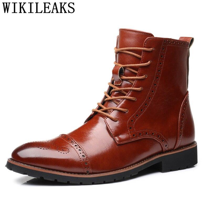 mens designer dress boots