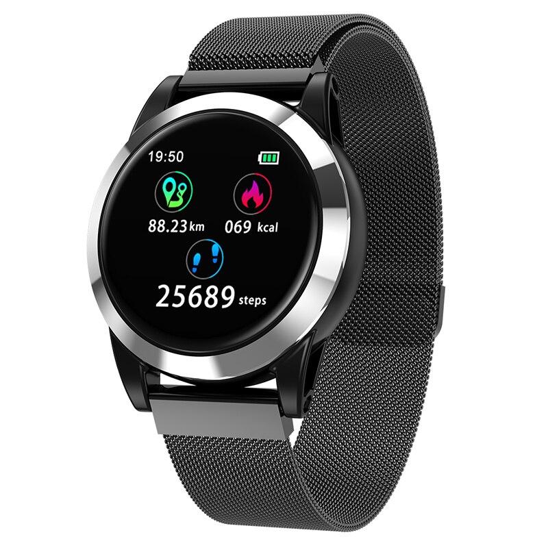 R15 Sport montre intelligente tension artérielle moniteur de fréquence cardiaque IP67 étanche Bluetooth poignet Smartwatch pour Xiao mi Android IOS téléphone