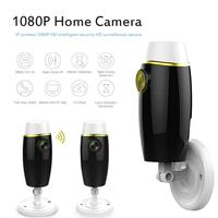 VODOOL Mini 1080P WiFi IP Camera Two Way Audio Intercom Night Vision Home Security Surveillance Baby Monitor CCTV Network Camera