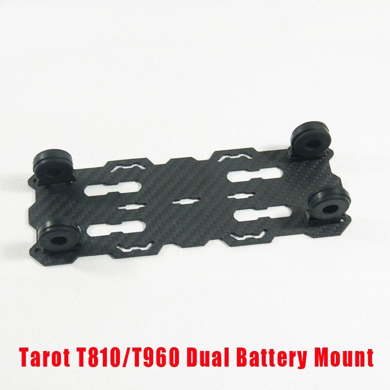 Tarot RC T810/T960 Dual Battery Mount plate TL96018 for RC kit Drone Diy Quadcopter kit Tarot 810 960 Foldable carbon fiber rc qav250 diy carbon fiber quadcopter multirotor kit