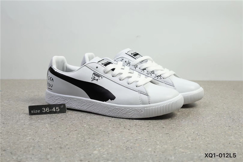 Puma shoes PUMA Visual Artist Shantell Martin Joint Venture White Graffiti  White black size 36 45new-in Badminton Shoes from Sports   Entertainment on  ... 669128bf7