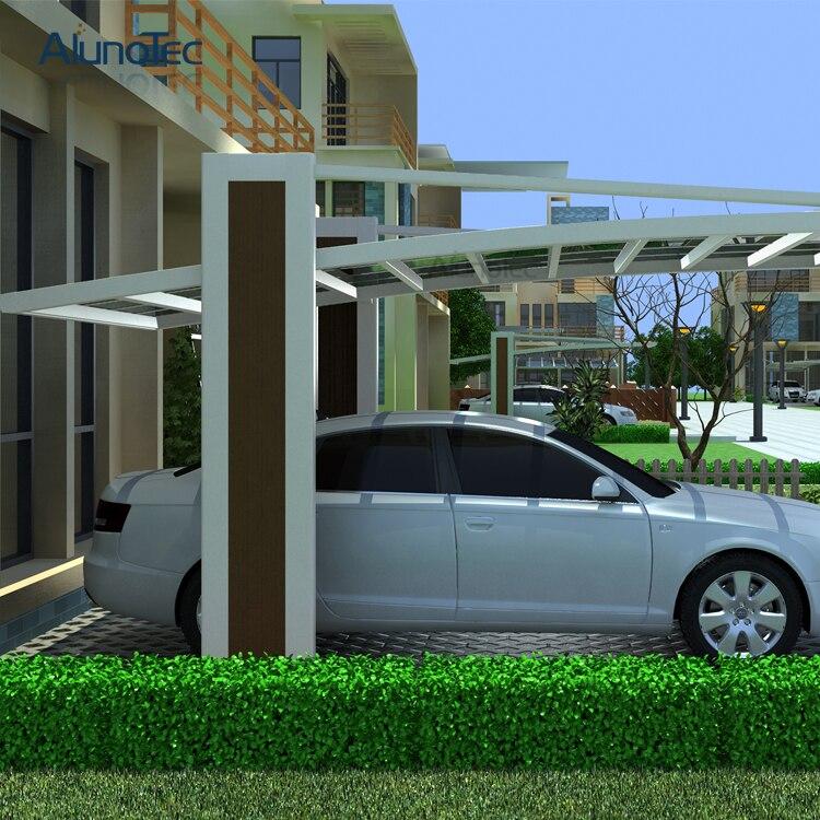 Finest alluminio lato a tirare posto auto coperto for Piani garage separati con posto auto coperto