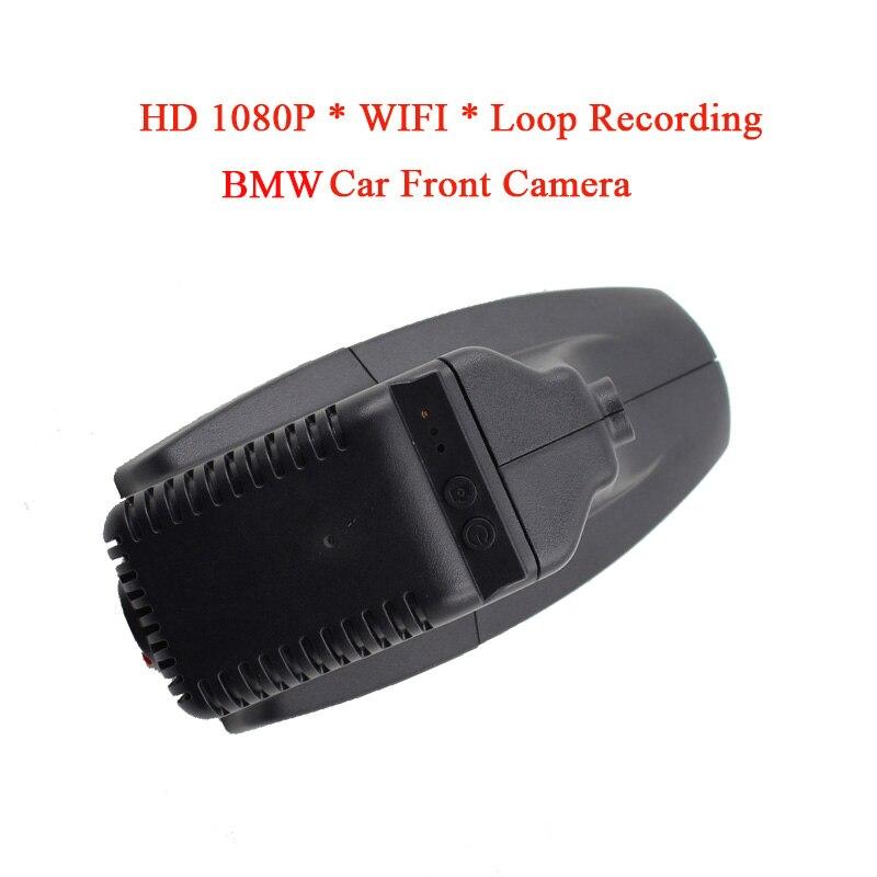 WIFI Waterproof HD 1080P USB2.0 Car DVR Camera Night Vision Front Camera For BMW X1 Car DVD Monitor Recorder GPS Loop Recording plusobd wifi hd dvr car rearview camera with obd2 hidden video registrator for bmw x1 e90 e91 e84 e87 1080p night vision nt96655