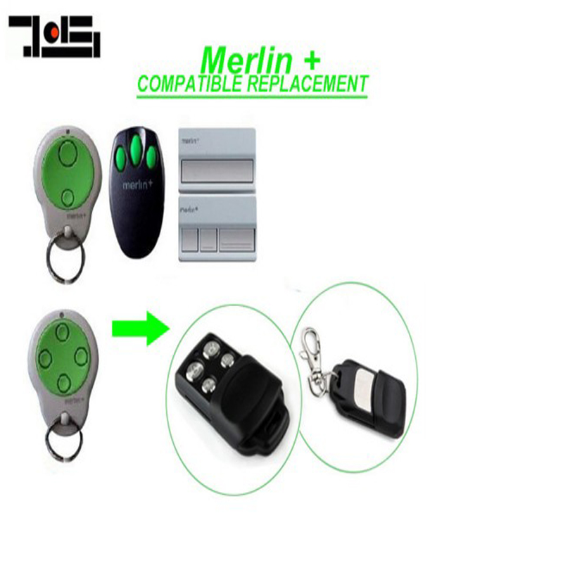 Free Shipping!!1pcs FOR Merlin C945 C943 C940 Merlin CM842 CM844 CM128 Garage Door Replacement Remote Control