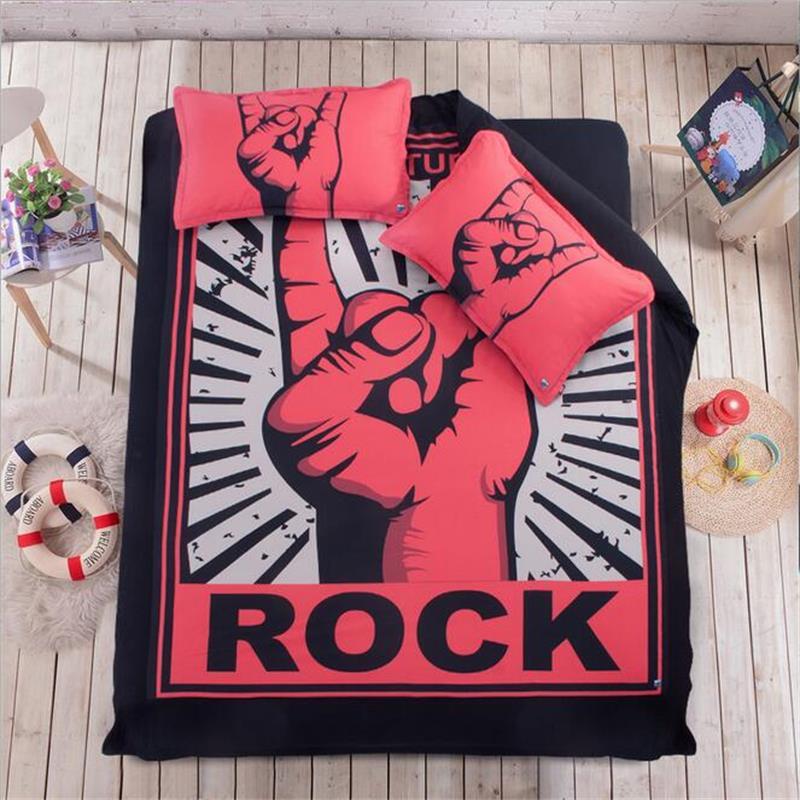 Personnalisé Rock Ensemble de Literie Lits Reine Roi Taille Housse ...