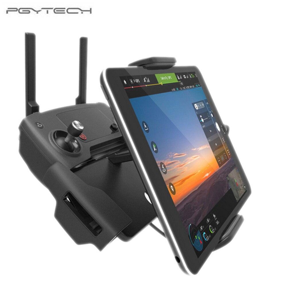 PGYTECH For DJI Mavic Pro 7 10 Pad Mobile Phone Holder aluminum Flat Bracket table stander